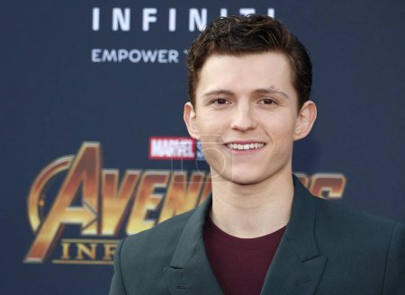 actor Tom Holland at the
