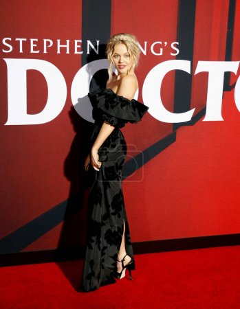 Photo for Emily Alyn Lind at the Los Angeles premiere of 'Doctor Sleep' held at the Regency Village Theater in Westwood, USA on October 29, 2019. - Royalty Free Image