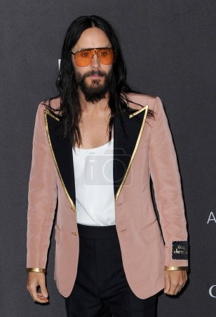 Photo for Jared Leto at the 2019 LACMA Art + Film Gala Presented By Gucci held at the LACMA in Los Angeles, USA on November 2, 2019. - Royalty Free Image
