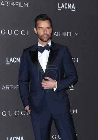 Photo for Ricky Martin at the 2019 LACMA Art + Film Gala Presented By Gucci held at the LACMA in Los Angeles, USA on November 2, 2019. - Royalty Free Image