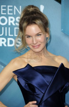 Photo for Renee Zellweger at the 26th Annual Screen Actors Guild Awards held at the Shrine Auditorium in Los Angeles, USA on January 19, 2020. - Royalty Free Image