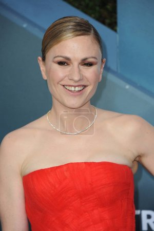 Photo for Anna Paquin at the 26th Annual Screen Actors Guild Awards held at the Shrine Auditorium in Los Angeles, USA on January 19, 2020. - Royalty Free Image