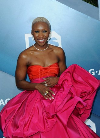 Photo for Cynthia Erivo at the 26th Annual Screen Actors Guild Awards held at the Shrine Auditorium in Los Angeles, USA on January 19, 2020. - Royalty Free Image