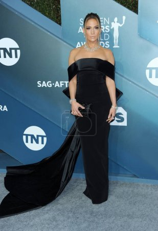 Photo for Jennifer Lopez at the 26th Annual Screen Actors Guild Awards held at the Shrine Auditorium in Los Angeles, USA on January 19, 2020. - Royalty Free Image