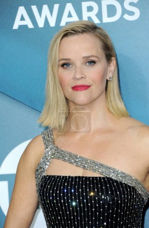 Photo for Reese Witherspoon at the 26th Annual Screen Actors Guild Awards held at the Shrine Auditorium in Los Angeles, USA on January 19, 2020. - Royalty Free Image