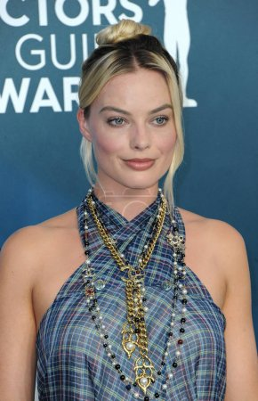 Photo for Margot Robbie at the 26th Annual Screen Actors Guild Awards held at the Shrine Auditorium in Los Angeles, USA on January 19, 2020. - Royalty Free Image
