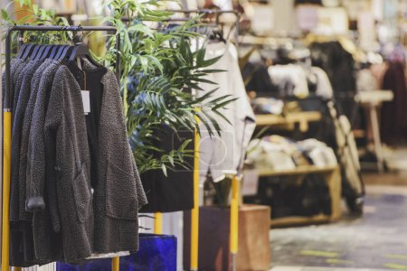 Photo for Clothing in a fashion store - Royalty Free Image