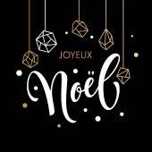 Veselé Vánoce francouzské Joyeux Noel blahopřání