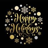 Vánoční pozadí vzorek Štastné a veselé dekorativní vektor