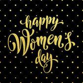 Ženy den zlaté třpytky blahopřání text na pozadí
