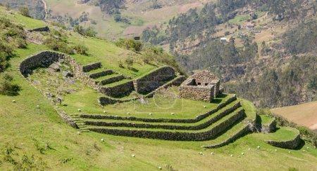 Inca ruin at Cojitambo