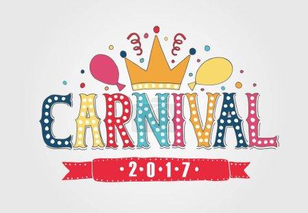 Hand drawn Carnival Fair logotype