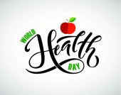 World health day concept Vector illustration