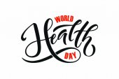 World health day concept Vector illustration