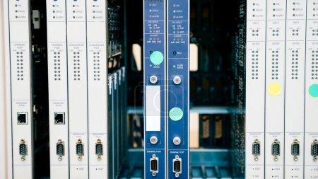 Photo pour CMTS cartes utilisées par les FSI dans l'industrie de réseautage - image libre de droit