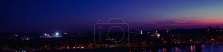 Novi Sad panorama at night