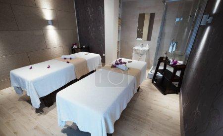 Foto de Hermosa moderna sala en balneario de masajes - Imagen libre de derechos