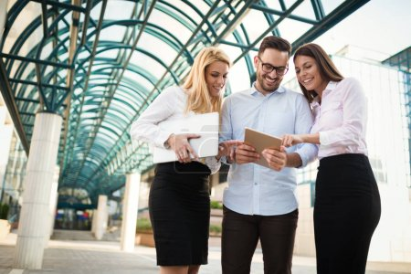 Business and office colleagues meeting