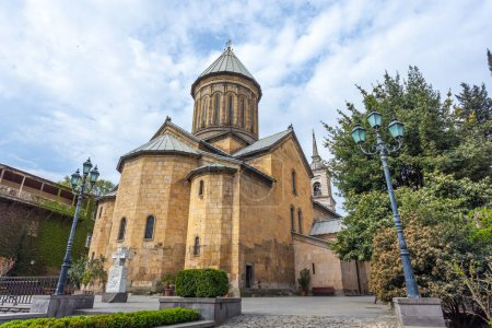 The Sioni Cathedral of the Dormition is a Georgian Orthodox cath