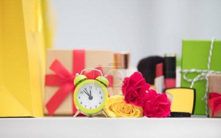 alarm clock and gifts
