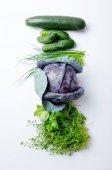 Постер Созрели травы и овощи