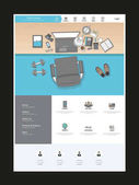 Modern One Page Website Template
