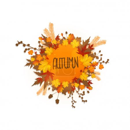 beautiful autumn design