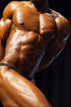 Bodybuilding competition in Canada