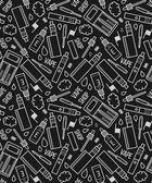 Vape seamless pattern