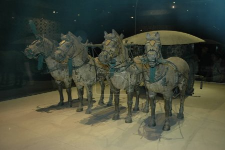 Sculptures at Terracotta army museum