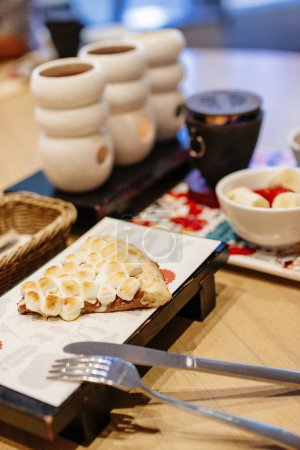 japanese desserts on table