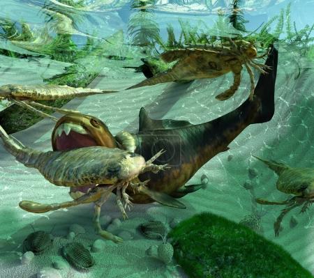 Life In A Prehistoric Devonian