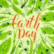 Постер, плакат: Happy Earth Day Card