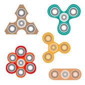 Set of fidget spinners