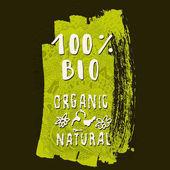 Organic and Natural sign