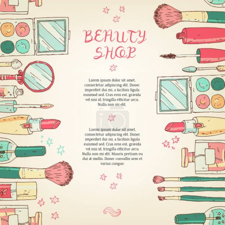 beauty cosmetics shop banner