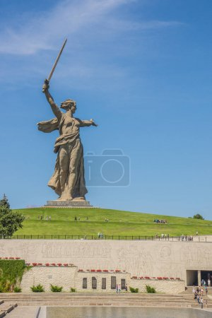 The Motherland Calls The statue