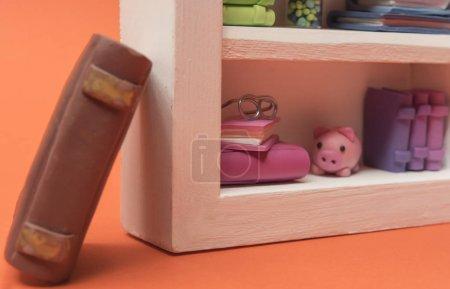 Cute colorful miniature books