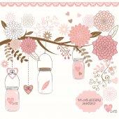 Wedding Mason Jar Flower