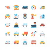 Transport Vector Icons 1