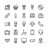 Decorate your science projects articles publications presentations books blog or web with this Science and Technology Vector Icons set