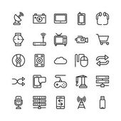 Science and Technology Line Vector Icons 11