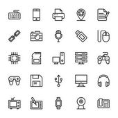 Web and Mobile UI Line Vector Icons 15
