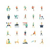 Human Color Vector Icons 1