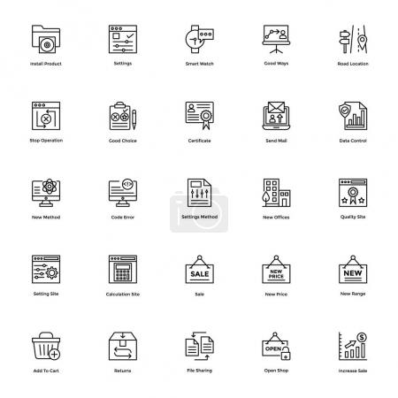 Business and Financial Icons Vector 14