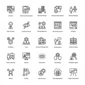 Project Management Vector Icons Set 16