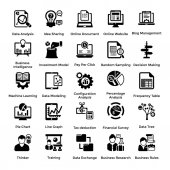 Set of Business and Management Icons 5