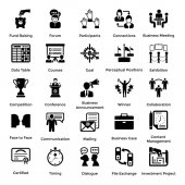Set of Business and Management Icons 7
