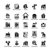 Real Estate Glyph Icons 8