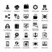 Web Hosting Glyph Icon Designs 5